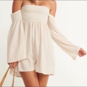Billabong Off Shoulder Romper